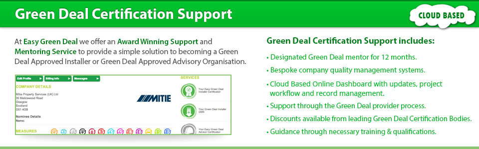 Green Deal Accreditation