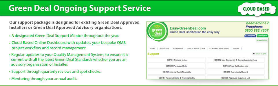 Green Deal Support